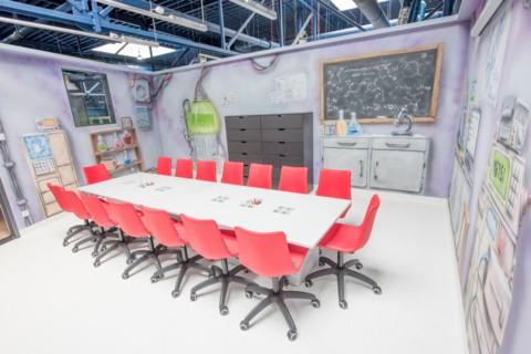 Sala edukacyjna w Airo Space Kids w Warszawie